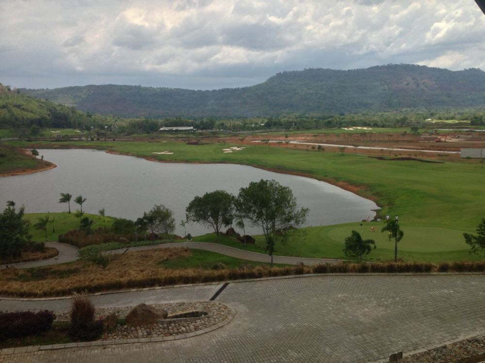Beautiful Scenery from Golf Club Restaurant