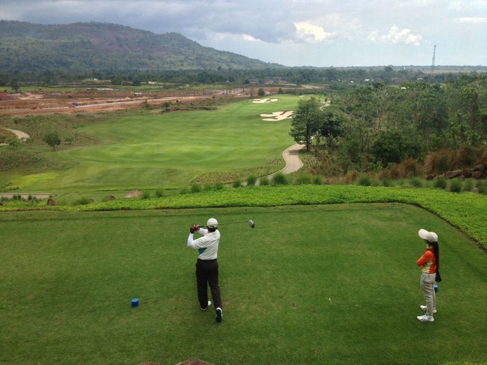 Tee Off from Hole 1