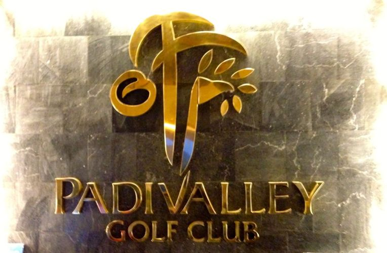 Padi Valley Golf Club Signage