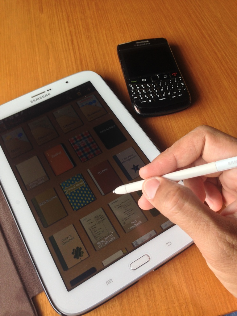 Samsung Galaxy Tab 8.0 and the S-Pen Stylus