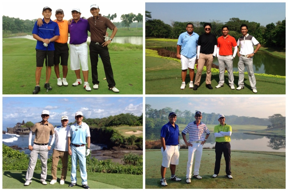 Me and My Golf Buddies in 2013 golf rounds
