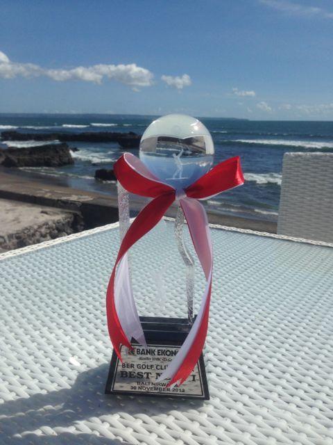 My Latest Golf Trophy