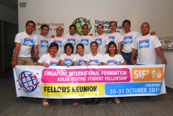 SIF 96 First Reunion in 2010