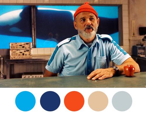 The Life Aquatic with Steve Zissou (2004) Colors Palette