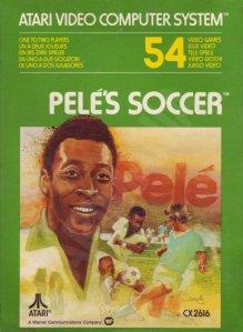 Atari's Pele Soccer box