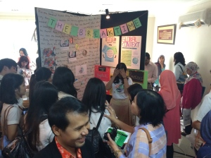 The full-packed exhibition
