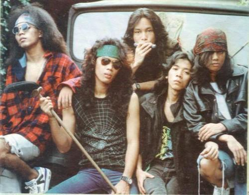 Slank, back in 1990