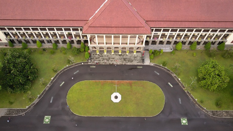 Bird eye view of Gedung Pusat Plaza