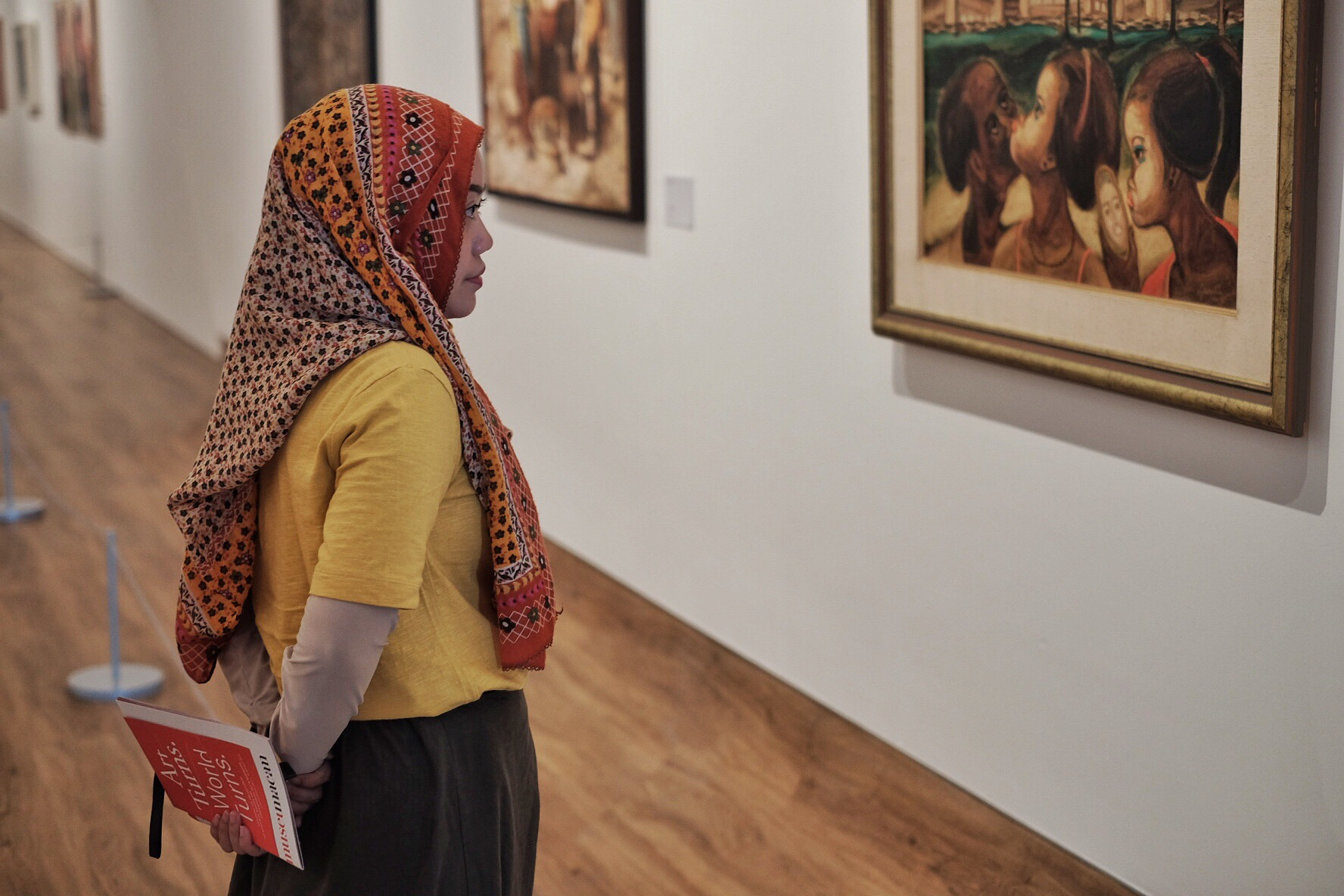 Art In Paradise D Exhibition Hall : Museum macan a new art paradise in jakarta u ibenimages