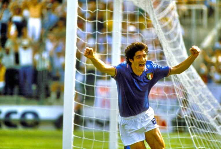 Paolo Rossi, bintang Timnas Italia di Espana 82