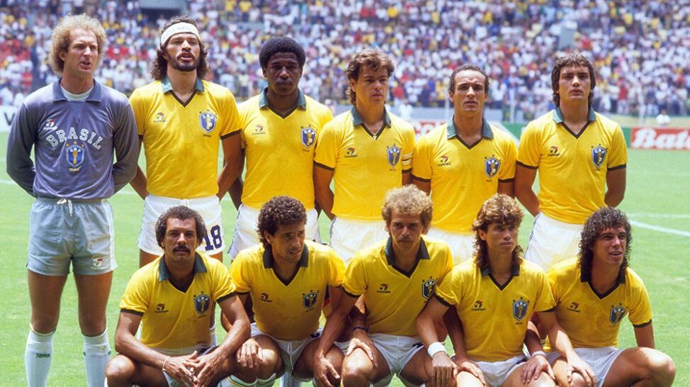Tim Brazil di Piala Dunia 1982